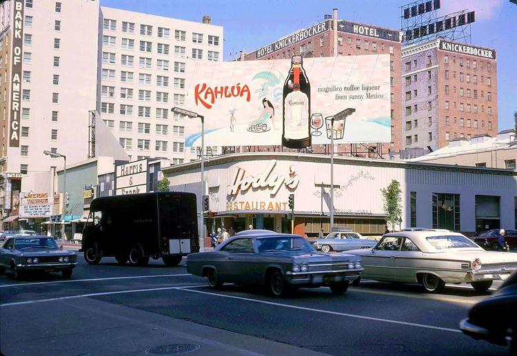 Цветные фото старого Лос-Анджелеса 40-70-х годов - ретро-фото 12