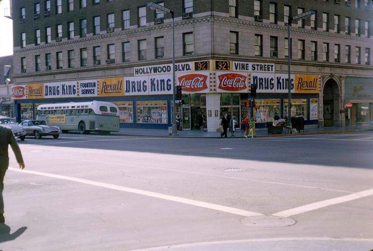 Цветные фото старого Лос-Анджелеса 40-70-х годов - ретро-фото 13