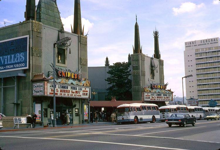 Цветные фото старого Лос-Анджелеса 40-70-х годов - ретро-фото 14