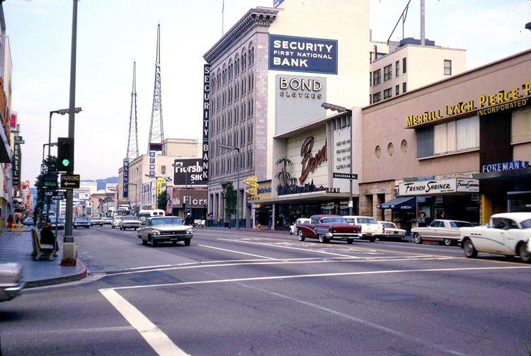 Цветные фото старого Лос-Анджелеса 40-70-х годов - ретро-фото 15