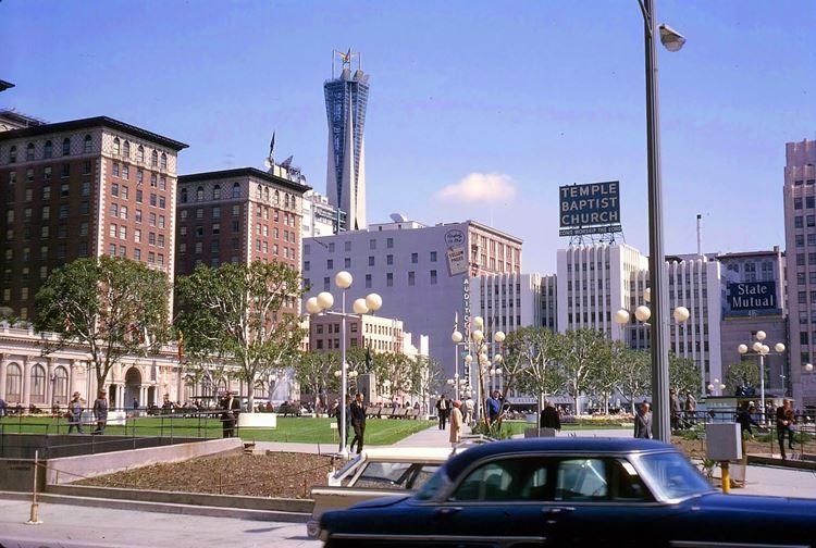 Цветные фото старого Лос-Анджелеса 40-70-х годов - ретро-фото 16
