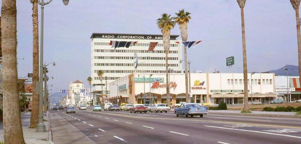 Цветные фото старого Лос-Анджелеса 40-70-х годов