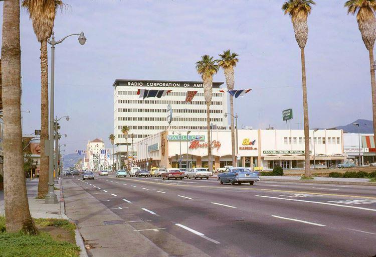 Цветные фото старого Лос-Анджелеса 40-70-х годов - ретро-фото 17