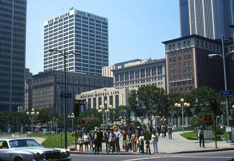 Цветные фото старого Лос-Анджелеса 40-70-х годов - ретро-фото 18
