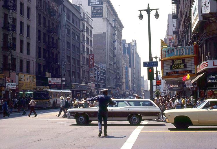 Цветные фото старого Лос-Анджелеса 40-70-х годов - ретро-фото 19