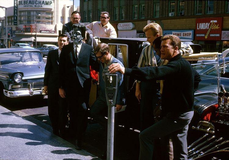 Цветные фото старого Лос-Анджелеса 40-70-х годов - ретро-фото 23