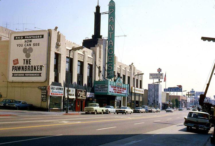 Цветные фото старого Лос-Анджелеса 40-70-х годов - ретро-фото 24
