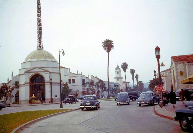 Цветные фото старого Лос-Анджелеса 40-70-х годов - ретро-фото 3