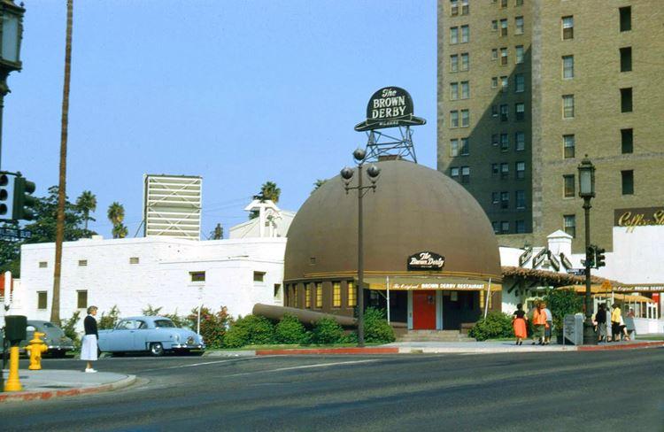 Цветные фото старого Лос-Анджелеса 40-70-х годов - ретро-фото 4