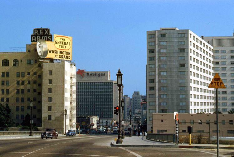 Цветные фото старого Лос-Анджелеса 40-70-х годов - ретро-фото 7