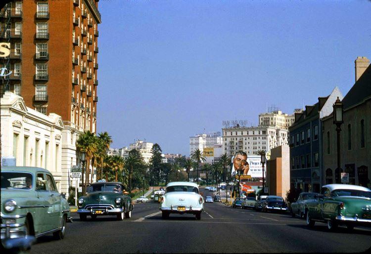 Цветные фото старого Лос-Анджелеса 40-70-х годов - ретро-фото 8