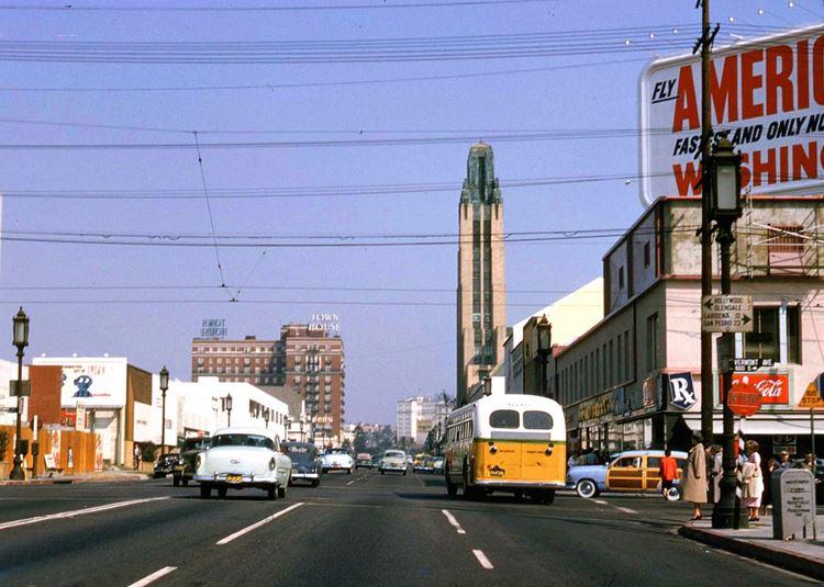 Цветные фото старого Лос-Анджелеса 40-70-х годов - ретро-фото 9