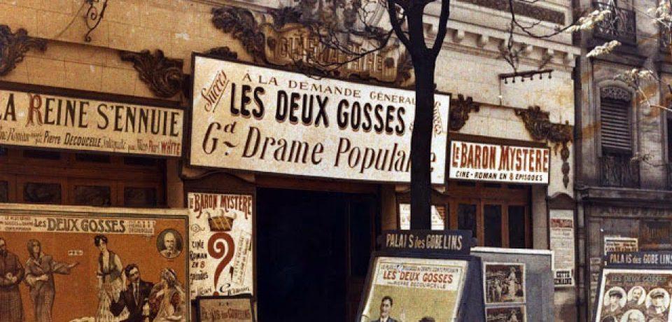 Старый Париж: редкие цветные фото, снятые в начале XX века
