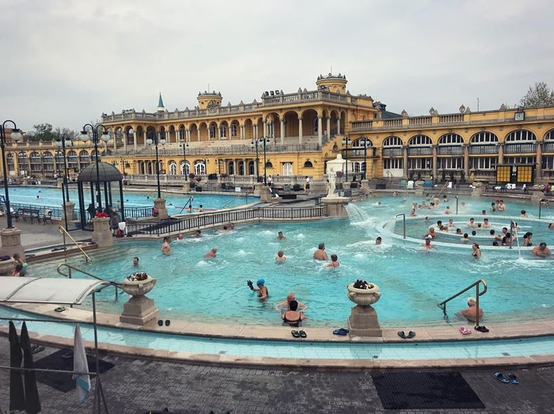 5 лучших термальных купален Будапешта - Купальня Сеченьи