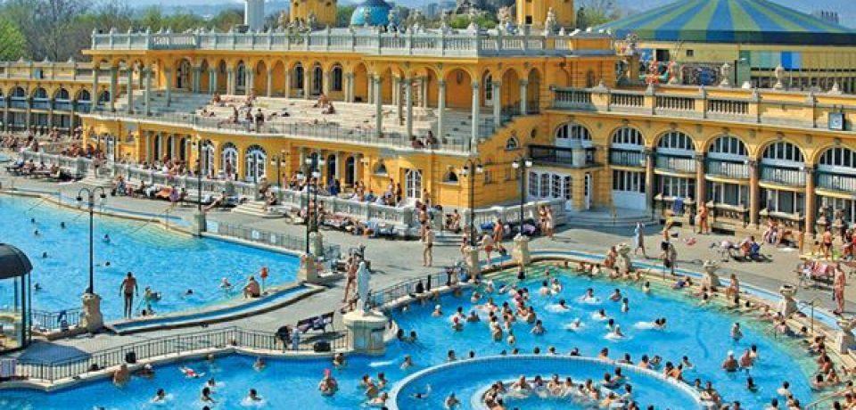 Лучшие термальные купальни Будапешта