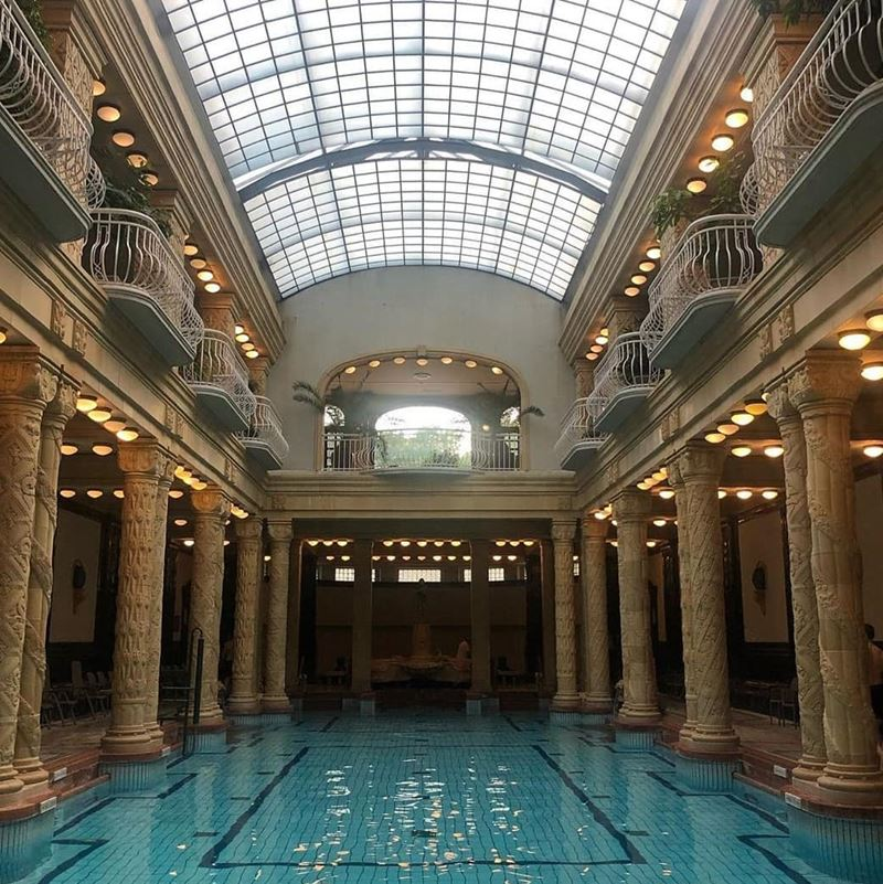 5 лучших термальных купален Будапешта - Купальня Геллерт