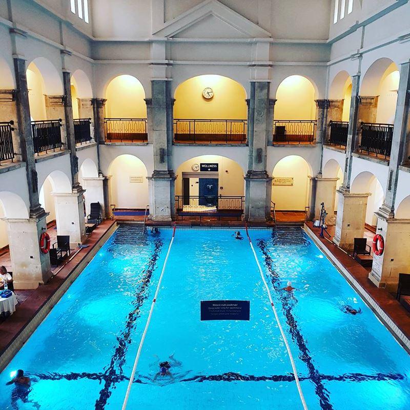 5 лучших термальных купален Будапешта - Купальня Рудаш