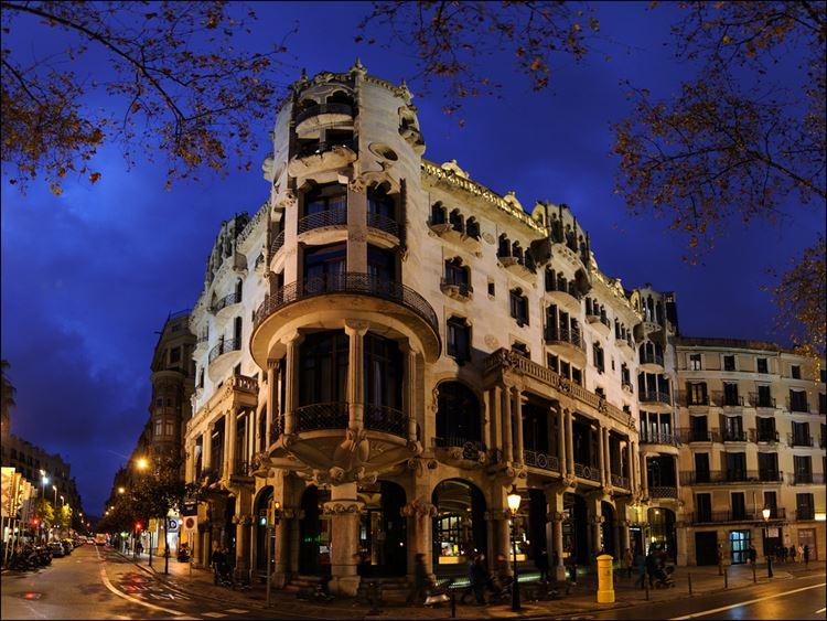 Здания Барселоны: Дом Фустера