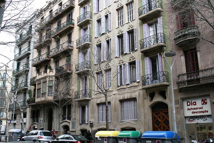Здания Барселоны: Дом Гранель