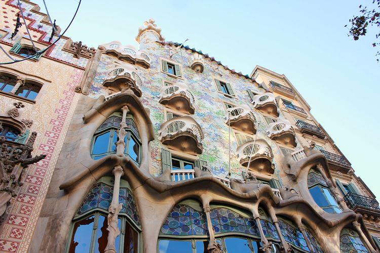 Архитектура Барселоны: Дом Бальо