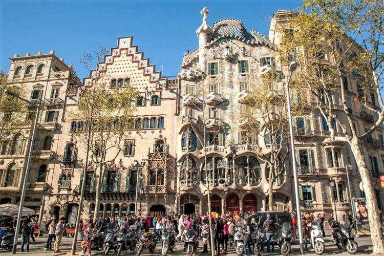 Здания Барселоны: Дом Бальо