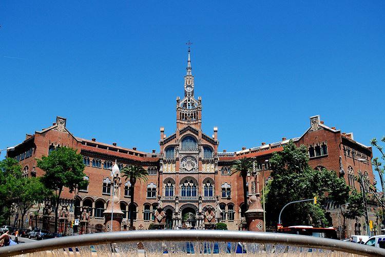 Архитектура Барселоны: Больничный комплекс Сант-Пау