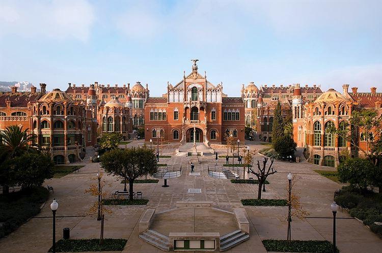 Здания Барселоны: Больничный комплекс Сант-Пау