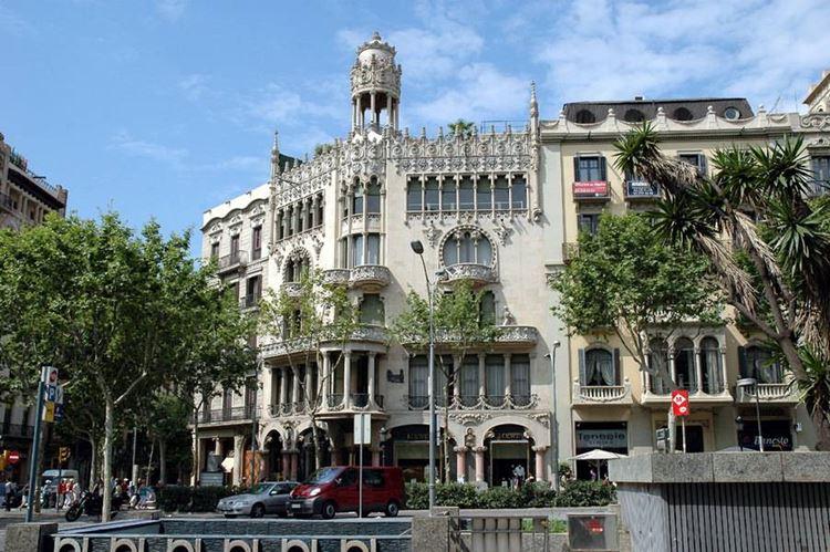 Здания Барселоны: Дом Льео-и-Мореры