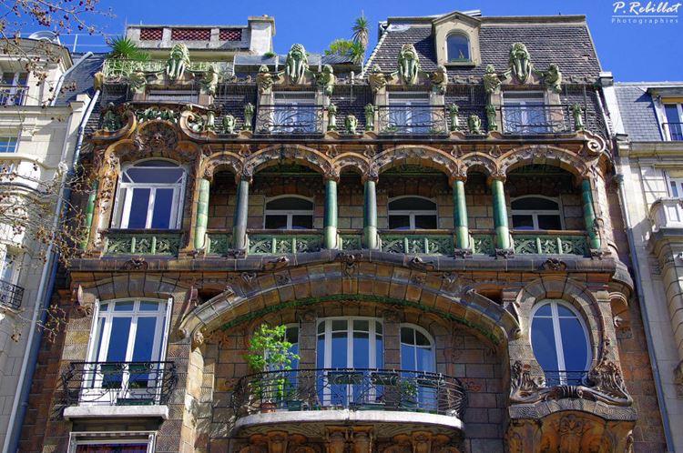 Архитектура Парижа: 10 красивых зданий в стиле ар нуво - Здание Лавиротта на проспекте Рапп