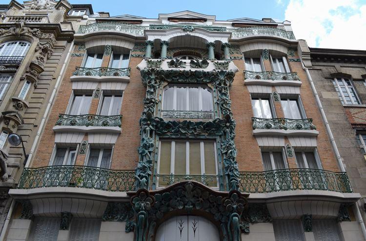 Архитектура Парижа: 10 красивых зданий в стиле ар нуво - Здание на улице Абвиль