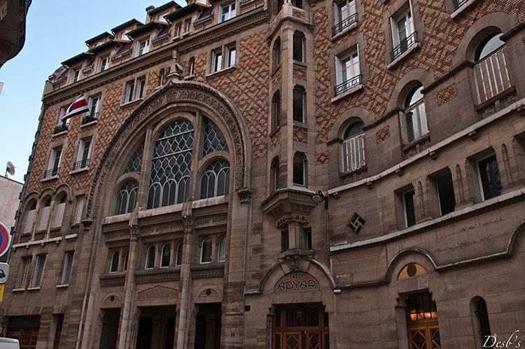 Архитектура Парижа: 10 красивых зданий в стиле ар нуво - Здание теософического общества 1