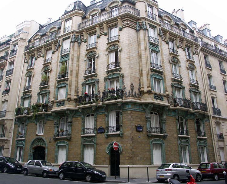 Архитектура Парижа: 10 красивых зданий в стиле ар нуво - Здание Les Chardons