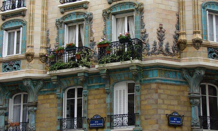 Архитектура Парижа: 10 красивых зданий в стиле ар нуво - Здание Les Chardons 1