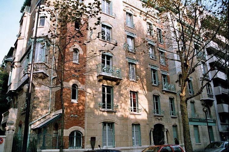 Архитектура Парижа: 10 красивых зданий в стиле ар нуво - Замок (кастель) Беранже