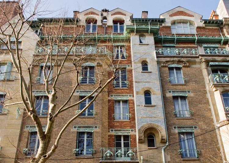 Архитектура Парижа: 10 красивых зданий в стиле ар нуво - Замок (кастель) Беранже 1