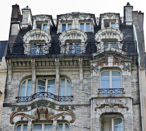 Архитектура ар нуво: самые красивые здания Парижа фото 5
