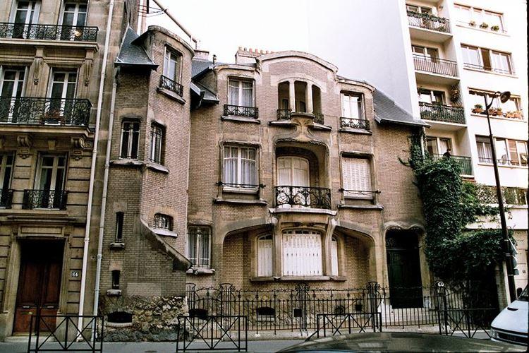 Архитектура Парижа: 10 красивых зданий в стиле ар нуво - Отель Guimard