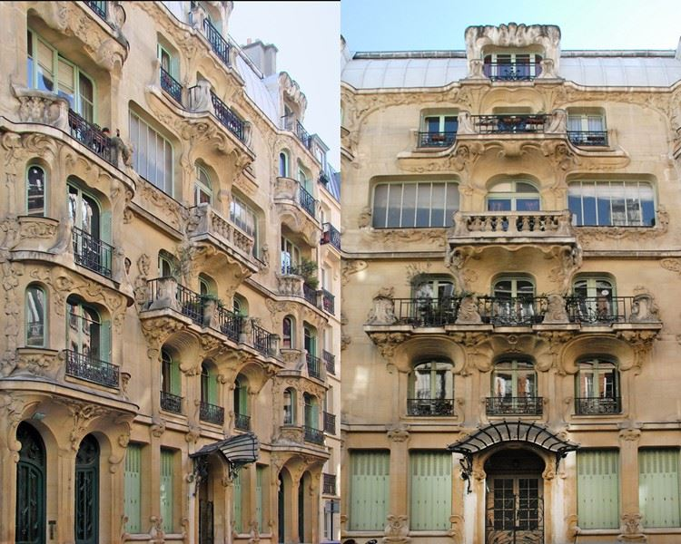 Архитектура Парижа: 10 красивых зданий в стиле ар нуво - Здание Les Arums