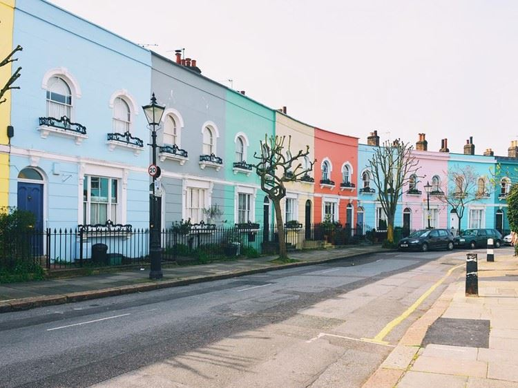 Красивые улицы Лондона: Келли Стрит (Камден)