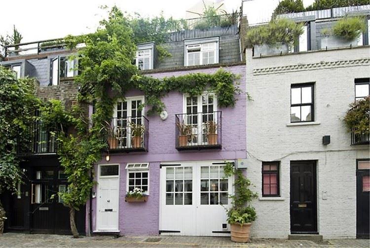Красивые улочки Лондона: Сент-Люк Мьюз (Ноттинг Хилл)