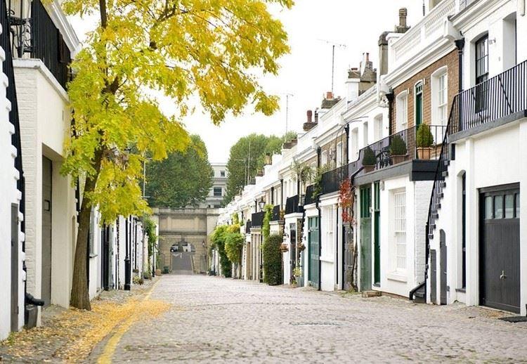 Красивые улицы Лондона: Холланд Парк Мьюз (Кенсингтон)