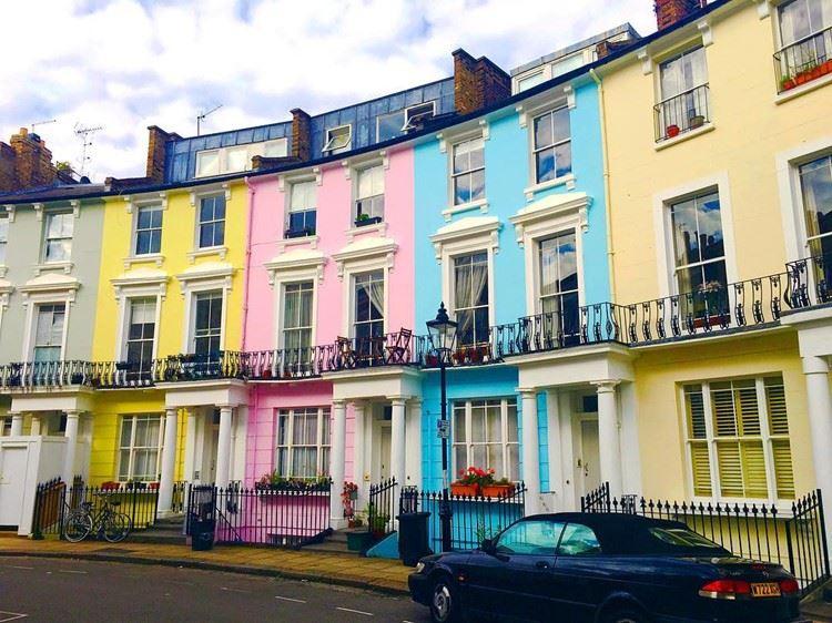 Красивые улицы Лондона: Чалкот Кресент (Примроуз Хилл)