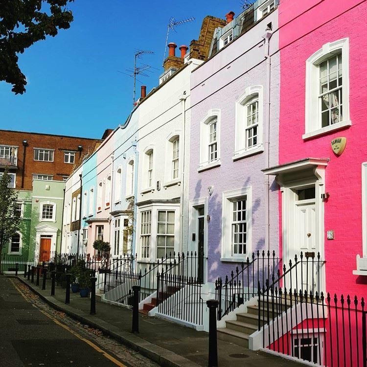 Красивые улицы Лондона: Байуотер Стрит (Челси)