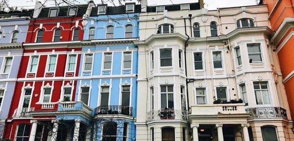 Красивые и яркие улицы Лондона