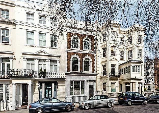 Красивые улицы Лондона: Кенсингтон Парк Роуд (Ноттинг Хилл)