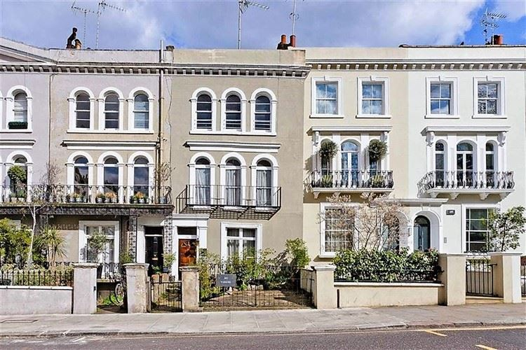 Живописные улицы Лондона: Кенсингтон Парк Роуд (Ноттинг Хилл)