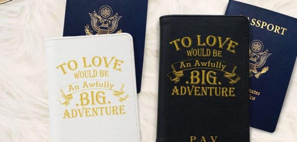 Travel-вдохновение: обложки на паспорт для путешественников от Bisu Bisu