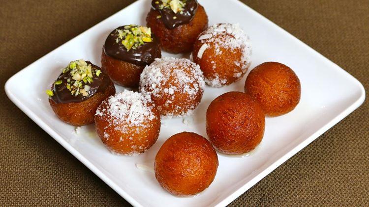 Индийский десерт Гулаб Джамун