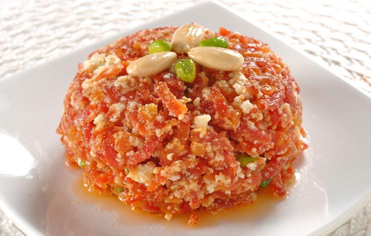 Индийский десерт Гажар Ка Халва