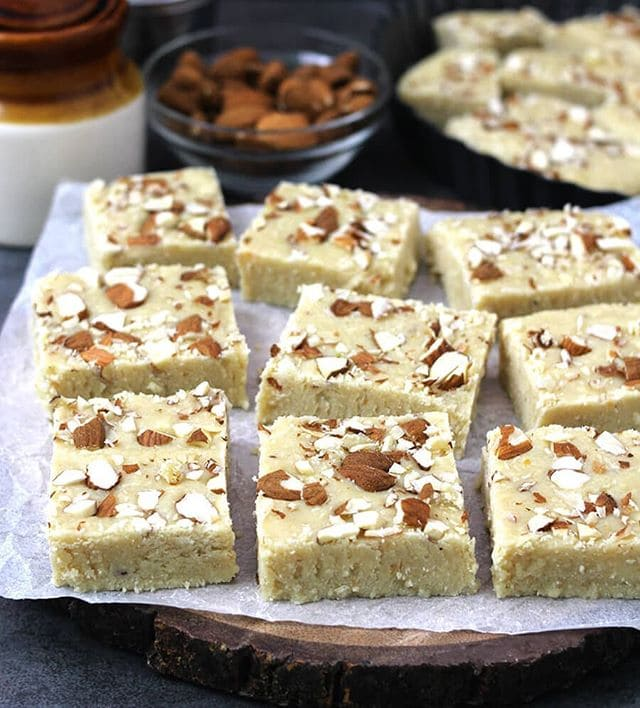 Лучшие индийские сладости десерты - Бурфи (Burfi/Barfi)